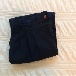 Vintage Blue High Waisted Pants
